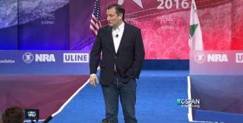 CPAC Boos, Walks Out On, Ted Cruz