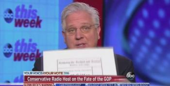 Glenn Beck Holds Up Nazi Party Ballot To Describe Donald Trump On ABC
