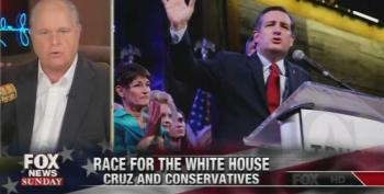 Rush Limbaugh Tells Chris Wallace That Cruz Is Just As 'Likeable' As Reagan