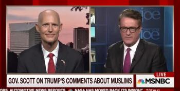 Morning Joe Cuts Gov. Rick Scott Interview Off For Refusing To Comment On Trump's Anti-Islam Comments
