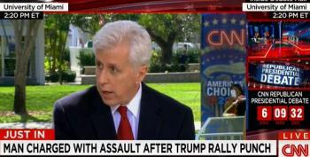 CNN's Jeffrey Lord Blames Liberals For Provoking Violence At Trump Rallies