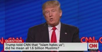 Donald Trump Doubles Down On Islam Hating US: 'I Mean A Lot Of Them'