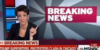 Maddow: If You Want To Know Why Violence Has Broken Out At Trump Rallies, Listen To His Words At The Podium