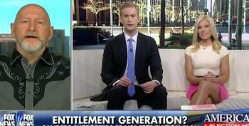 Fox 'News' Trashes Sanders Supporters As A Bunch Of Lazy, Mooching, Coddled Millennials