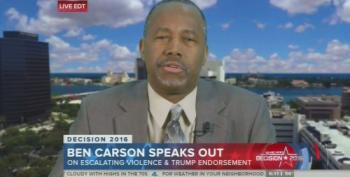 Ben Carson: 'There Could Be Escalation' Of Violence At Trump Rallies