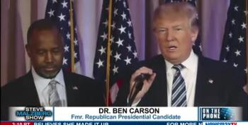 Ben Carson's Buyer's Remorse:  Trump Offered Me A Job