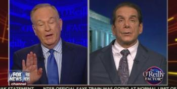 Krauthammer Scolds Bill O'Reilly For His 'Weaselly' Defense Of Trump's Violent Rhetoric
