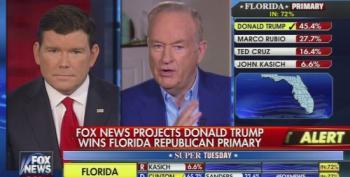 Bill O'Reilly Paints Trump As An Authoritarian Avenger