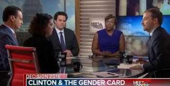 Meet The Press Panel Ignores Their Own Network's Sexist Criticism Of Clinton