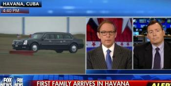 Fox 'News' Proceeds To Immediately Bash President Obama Upon His Arrival In Cuba