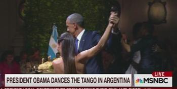 Morning Joe Crew Frets Over Obama Dancing The Tango In Argentina