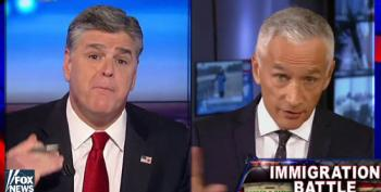 Sean Hannity And Jorge Ramos Duke It Out Over Immigration
