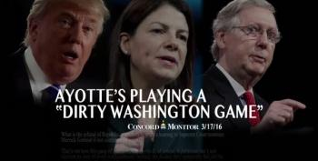 Democrats Go After Kelly Ayotte (R-NH) On Her Supreme Court Intransigence
