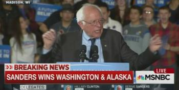 Bernie Sanders Wins Big In Washington, Alaska And Hawaii (Updated)