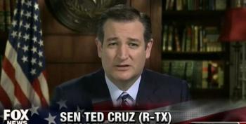 Ted Cruz Once Again Calls For Carpet Bombing ISIS
