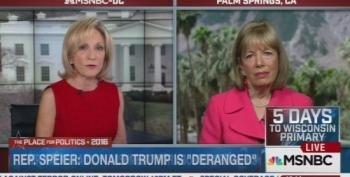 Rep. Jackie Speier Calls Trump 'Deranged Donald' After Abortion Comments