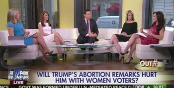 Fox News Hosts Blame Chris Matthews For Trump's Abortion Gaffe