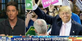 'Independent' Trump Supporter Scott Baio Rattles Off Litany Of Right Wing Talking Points