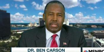 Ben Carson Defends 'Family Man' Donald Trump's Nasty Remarks About Him And Minorities