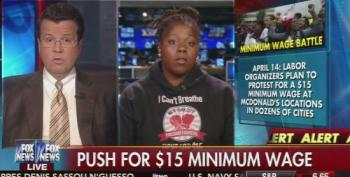 Neil Cavuto Worries $15 Minimum Wage Will Make Hamburgers Too Expensive