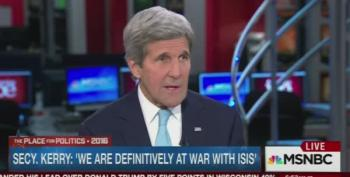 John Kerry: GOP Presidential Primary 'Is Embarrassing Our Country Abroad'