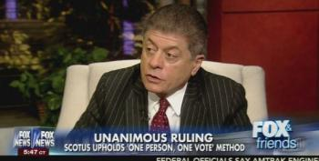 Fox Legal Analyst: 'One Person One Vote' Ruling Leads 'To People Who Are Not Citizens Voting'