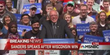 Bernie Sanders Wins Wisconsin Primary