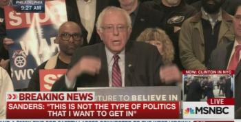 Bernie Sanders Doesn't Back Off 'Unqualified' Criticism Of Hillary Clinton