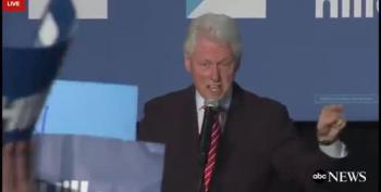 Bill Clinton's Verbal Scuffle With Black Lives Matter Protesters