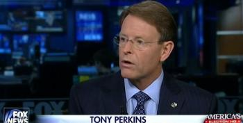Fox Brings On Anti-Gay Bigot Tony Perkins To 'Separate Fact From Fiction' On 'Religious Liberty' Laws
