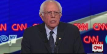 VIDEO: Bernie Sanders' Brooklyn Debate Closing Statement: 'We Have Enormous Potential'