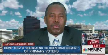 Dr. Ben Carson Compares Colorado Delegate Rules To Jim Crow Laws