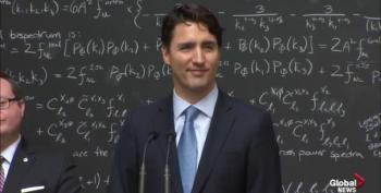 PM Justin Trudeau Gives Reporter Quick Lesson On Quantum Computing