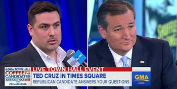 Ted Cruz Confronted By Gay Republican Over Gay Marriage And Whiffs