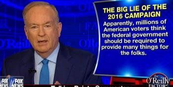 Bill O'Reilly Defends His Claim That Black Americans Are 'Ill-Educated And Have Tattoos On Their Forehead'
