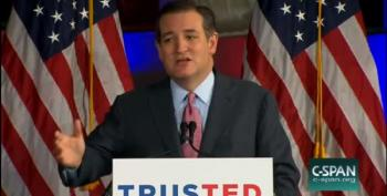 Cruz: America Has Always Been Best When She Is Lying Down With Her Back On The Mat