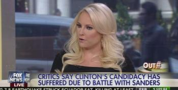 Meghan McCain Says 'Bernie Sanders Is A Cult Leader'