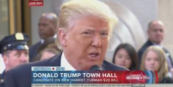 Donald Trump Calls The Choice Of Harriet Tubman's $20 Bill 'Pure Political Correctness'