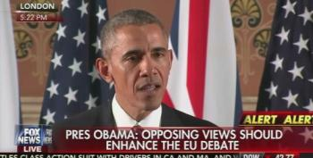 President Obama On Brexit: UK 'Goes To The Back' Of The Trade Queue