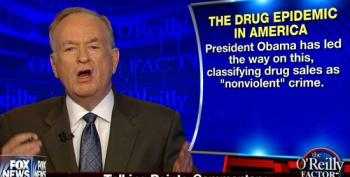 Bill O'Reilly Suggests Obama Thinks Drug Dealing Is Just Fine