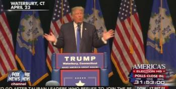 Donald Trump: 'I Sort Of Don't Like Toning It Down'