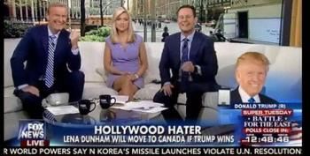 Trump: Americans Will Thank Me When Lena Dunham Flees To Canada