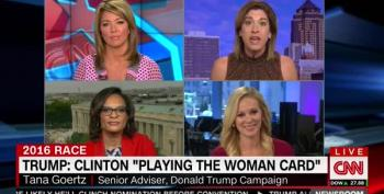 Trump Spokesperson: The Average Woman Doesn't Use Her Brain
