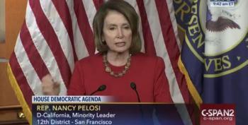 Nancy Pelosi Responds To Trump: Is He Playing The 'Joker Card?'