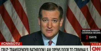 Cruz: Transgendered Bathroom Law 'Opens The Door' To Criminals