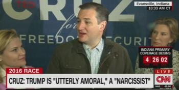 Ted Cruz Melts Down On Trump: Brags 'Venereal Disease Is His Own Personal Vietnam'