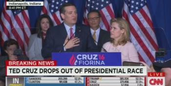 Ted Cruz Drops Out Of Presidential Race In Indiana