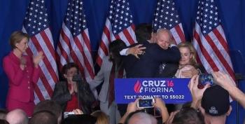 WATCH Ted Cruz Elbows His Wife In The Head