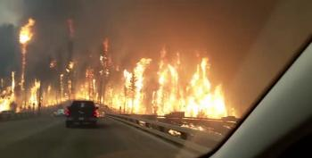 Leaving Fort McMurray