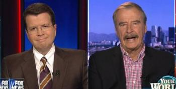 Ex-Mexican President Vicente Fox Doesn't Think Much Of Trump's 'Hispanic Outreach'